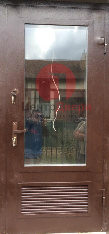 Стальная дверь с котельную